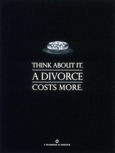 De Beers Diamond : Divorce