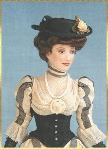 cindy gates miniature dolls-Victorian