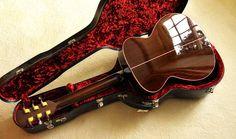 Stefen Sobell New World guitar, back