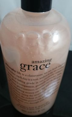 Philosophy Amazing Grace Shampoo, Shower Gel, and Bubble Bath 16 Oz #Philosophy