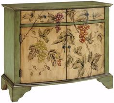 vintage cabinet - something like this would be nice for extra storage in the dining room.