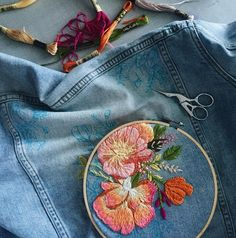 """lustik: """" Creative Hand Embroidery by Walker Boyes. Etsy Shop. """""""