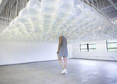 Cheryl Pope. Up Against, 2012. Performance at Mandragoras Art Space (MAAS), New York, 2012. Documentary photograph. Photo: MAAS