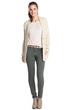 stretch cotton leggings CASUAL - Esprit Online-Shopista