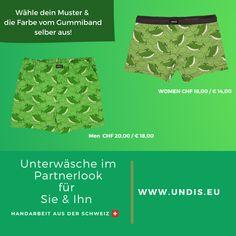 UNDIS www.undis.eu Bunte, lustige und witzige Boxershorts & Unterhosen im Partnerlook für Männer, Frauen und Kinder. #undis #bunte #kinderboxershorts #lustigeboxershorts #boxershorts #frauenunterwäsche #männerboxershorts #männerunterwäsche #herrenboxershorts #kinder #bunteboxershorts #unterwäsche #handgemacht #verschenken #familie #partnerlook #mensfashion #lustige #valentinstaggeschenk #geschenksidee #eltern #vatertagsgeschenk Videos, Gift, Self, Gift Ideas For Women, Men's Boxer Briefs, Guy Gifts, Mother's Day, Switzerland, Funny