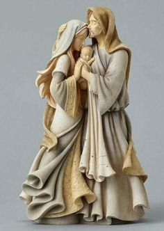 Enesco Foundations Nativity Holy Family Masterpiece Figurine 12 Inches for sale online Catholic Gifts, Catholic Art, Religious Art, Religious Pictures, Catholic Priest, Christmas Figurines, Christmas Nativity, Family Christmas, Mary Christmas