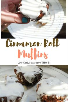 My Cinnamon Roll Muffins take all the prep work out of an old breakfast favorite. They're low-carb, sugar-free and THM S!