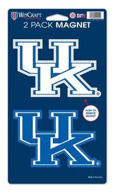 University of Kentucky Car Magnets (2 Pack)
