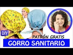 Cómo HACER 1 GORRO de QUIRÓFANO o SANITARIO | UNISEX (incluye patrón gratis) - YouTube Scrub Hat Patterns, Hat Patterns To Sew, Sewing Patterns, Kids Umbrellas, Diy Scrub, Diy Hat, Scrub Caps, Mo S, Quilted Bag