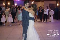"""Nicole and Josh chose Brad Paisley's """"Then"""" for their First Dance. http://www.discjockey.org/real-chicago-wedding-may-9-2015/"""