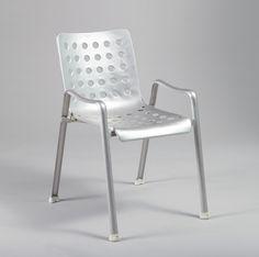 Hans Coray; Aluminum 'Landi' Chair, 1939