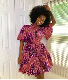 Ankara Shirt Gown Best African Dresses, Latest African Fashion Dresses, African Print Dresses, African Print Fashion, African Attire, Ankara Fashion, Africa Fashion, African Prints, African Fabric
