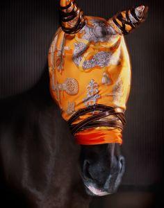 www.lacavalieremasquee.com  An Hermes Horse by Monica Stevenson