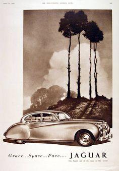 Jaguar – One Stop Classic Car News & Tips Retro Ads, Vintage Advertisements, Vintage Prints, Vintage Cars, Jaguar E Type, Jaguar Cars, Automobile, British Sports Cars, Original Vintage