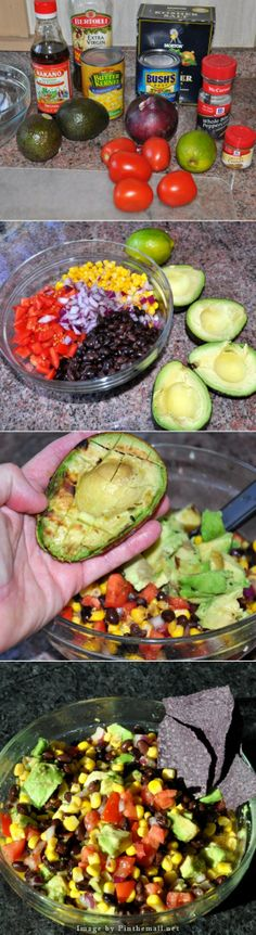 Grilled Avocado Salsa