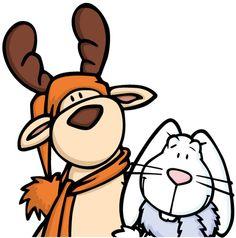 rabbit-reindeer2 by jatls, via Flickr