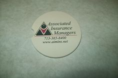 custom printed, personalized car coasters starting at $7 with free shipping at www.personalizeyouritems.com