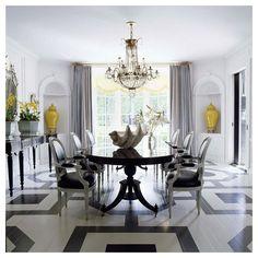 Mary McDonald designed this beautiful dining room