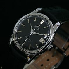 VINTAGE-OMEGA-SEAMASTER-DATE-Automatic-Cal-565-St-Steel-Swiss-Mens-Watch-1961