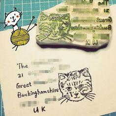 Address stamp design