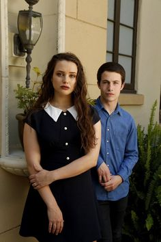 Katherine Langford and Dylan Minnette for 13 Reasons Why. 13 Reasons Why Poster, 13 Reasons Why Reasons, 13 Reasons Why Netflix, Thirteen Reasons Why, Tv Series 2017, Best Series, Netflix Series, Alex Standall, Zach Dempsey
