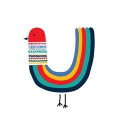 Rainbow Bird Art Print Animal Illustration Drawing from Decanimal - Decanimal Art Print Shop . - Rainbow Bird Art Print Animal Illustration Drawing from Decanimal – Decanimal Art Print Shop – - Bird Drawings, Animal Drawings, Bird Illustration, Illustration Children, Animal Illustrations, Fantasy Illustration, Digital Illustration, Illustrations Posters, Peacock Decor