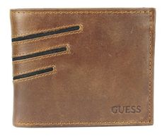Guess Men's Yuma Passcase, Tan/Jet Black, One Size GUESS. $27.99