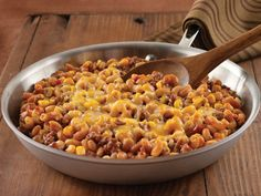 Hearty Chuckwagon Turkey and Bean Skillet Recipe  -  Click on the photo for the complete recipe.  ENJOY!