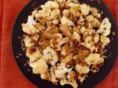 """Sam Sifton's Roasted Cauliflower with Anchovy Bread Crumbs   Serious Eats: Recipes - Mobile Beta!"""""""