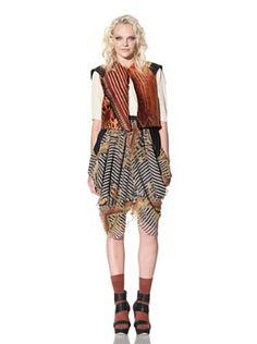 Gary Graham Women's Jacquard Vest (Royal)