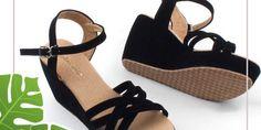 Jual Sandal Wedges Sandal Wedges, Wedge Sandals, Shoes, Fashion, Moda, Zapatos, Wedge Flip Flops, Shoes Outlet, Fashion Styles