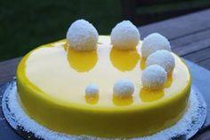 Entremets citron - framboises