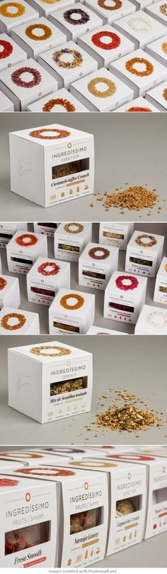 Ingredissimo Packaging by Lo Siento Studio | Fivestar Branding – Design and Branding Agency & Inspiration Gallery