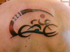 Triathlon Tattoo - Mid Air & Ink, Des Moines, IA