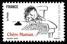 Jean-Jacques Sempé (I have a set of these stamps!)