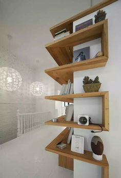 Wraparound shelving