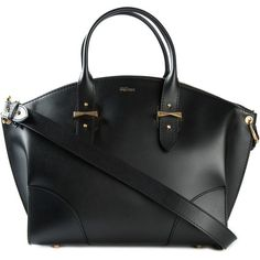 Alexander McQueen 'Legend' tote (103.015 RUB) via Polyvore featuring bags, handbags, tote bags, black, tote bag purse, tote handbags, handbags totes, alexander mcqueen tote bag и shoulder strap handbags