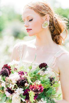 La novia de la flor | Kelsey Genna | Kate Grewal Fotografía | nupcial Reflexiones boda Blog 26