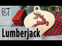 Christmas Lumberjack Plaid Polymer Clay Cane Project