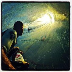 Kelly Slater + Barrel + GoPro = Amazingness