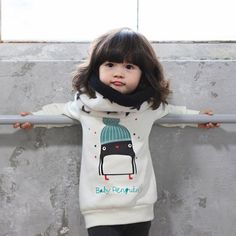 Penguin Sweatshirt For baby's And Toddlers