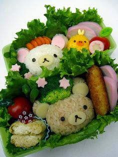 With food this cute, how can you NOT have rainbows coming out of your ears and stars and sparkles in your eyes!