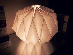 DIY paperlamp