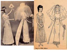 Casa De Muñecas 5 patrones victoriano Vestido 1:12 cuarto de costura confección Accesorio