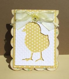 Easter Chick by ladybug91743 - Cards and Paper Crafts at Splitcoaststampers