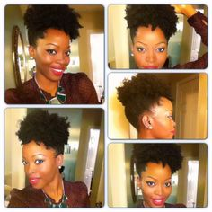 Natural hair style @msnaturallymary