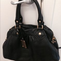 Marc By Marc Jacobs Authentic a Handbag Soft leather designer handbag! Simple but classy. A little discoloration on the gold studs but it still looks really great. Marc Jacobs Bags Shoulder Bags
