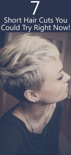 Here are some classics in short haircuts that you can try right away that will bring the fun side of you right out. They have never been out of style and they never will be!