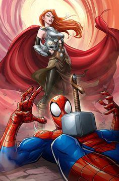 Spider-Man vs Thordis
