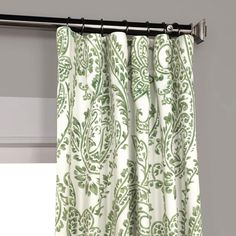 Tea Time Green Blackout Room Darkening Curtain - Home Made Curtains - Curtain Cottage Curtains, Curtains Living Room, Room Darkening, Green Curtains Living Room, Living Room Decor Curtains, Floral Room, Curtains, Panel Curtains, Half Price Drapes